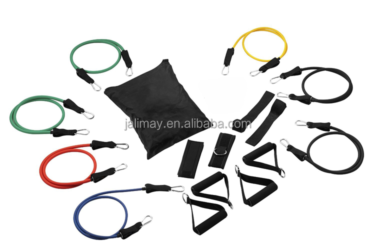 Pilates Oefening Workout Fitness GYM Sport zwemmen resistance bands Latex Resistance Bands voor Yoga