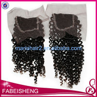 Fast delivery high quality 100% unprocessed remy lace front closure piece