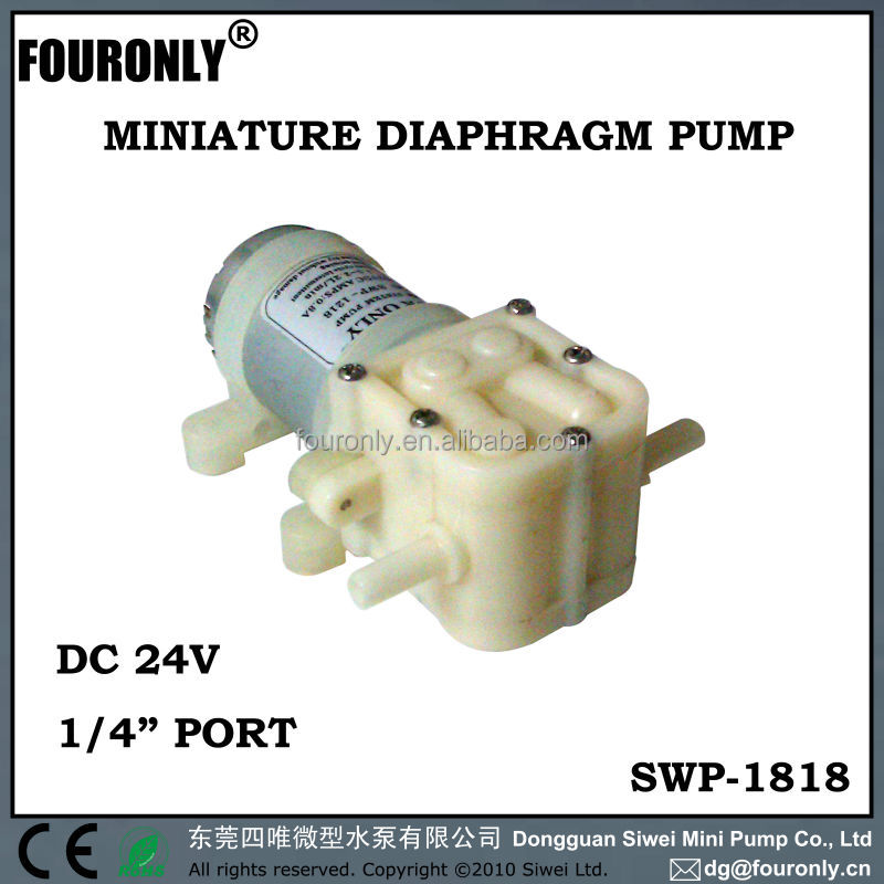 SWP-1818 series DC 12V / 24V electric water dispenser mini water pump