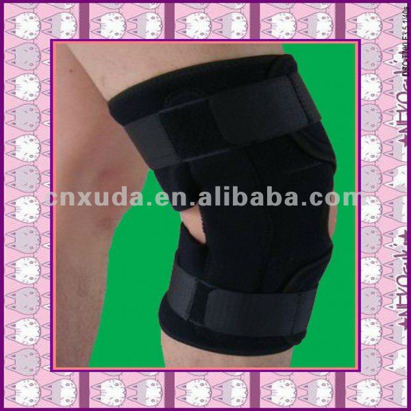 CE approved Open Patella Neoprene wraparound knee suport