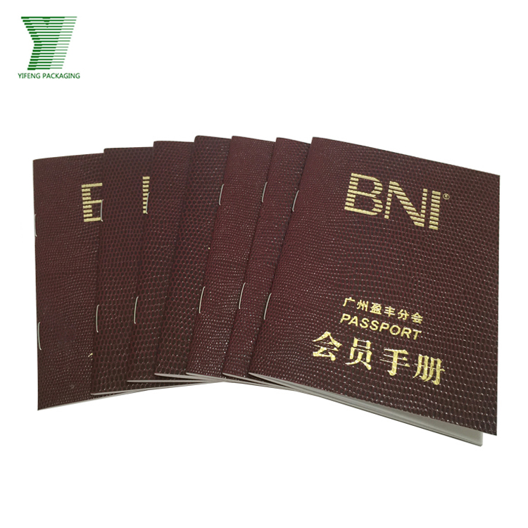 wholesale high quality custom design paper catalogue luxury brochure printing