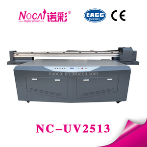 New Condition Wide Format Plate Type digital uv printer to print MDF, Composites, Wood, Ceramic Tile, Aluminium, Glass
