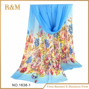 High quality factory price pure silk shawl