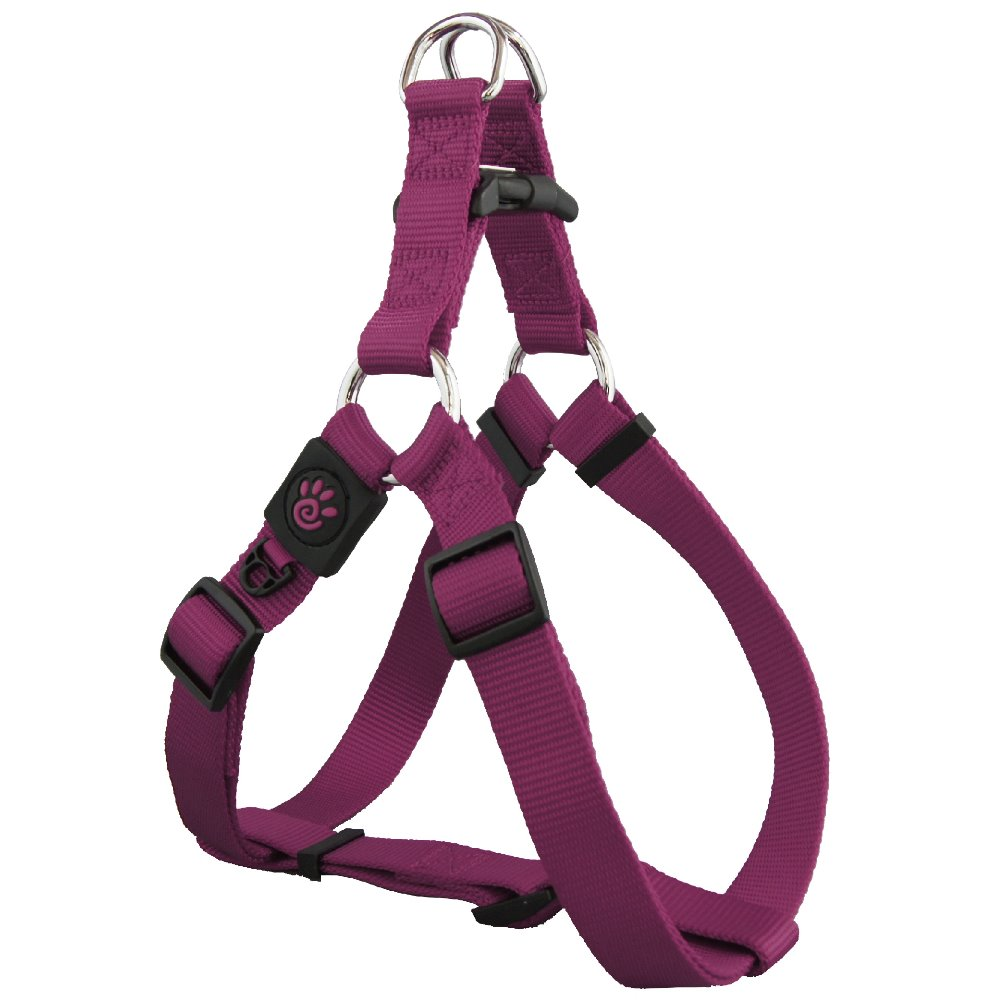 Wholesale Nylon Strong Step-in Dog Harness With Adjustable Extra Small Purple