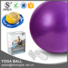 Colourful Eco Friendly Anti Burst Exercise PVC Inflatable Soft Plastic Ball