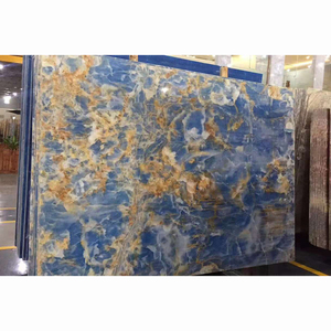 Natural Stone Blue Onyx Marble Slabs Good Price