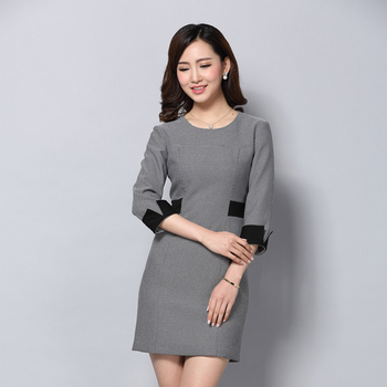 Classic Workwear Lady Formal Body Dress Woman Office