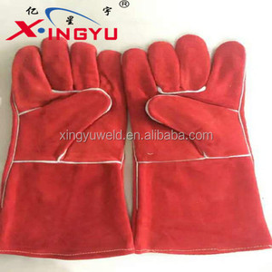 Color Finger Welding Gloves competitive price
