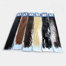 2017 hot sell synthetic hair extensions 24 inch new micro knot zizi braid