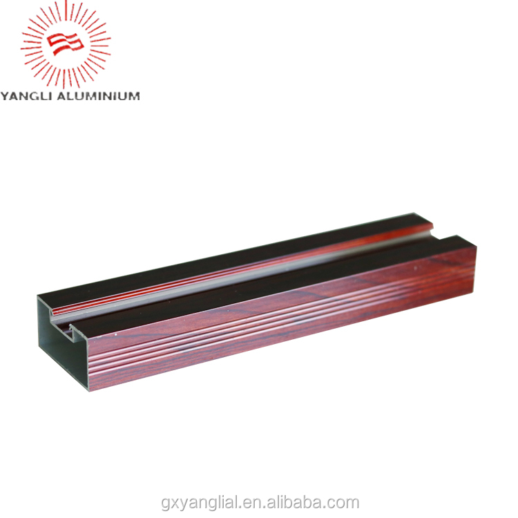 sliding window extruded aluminum profiles the various of types