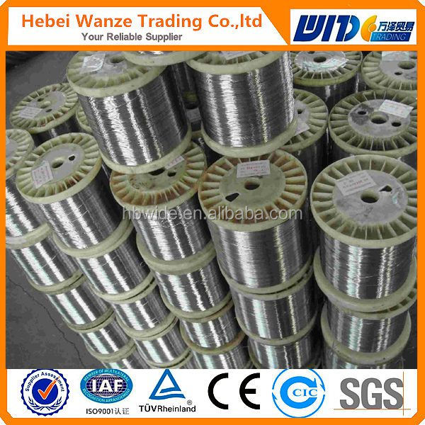 hot dipped galvanized spool wire packed in wooden or plastic spool supplier