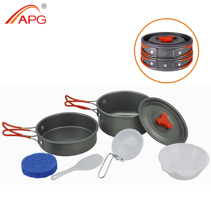 APG Pentola Pentole Campeggio Portatile Pentole In Alluminio