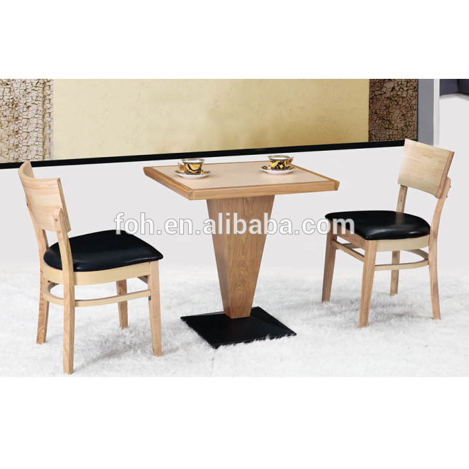 Small Wooden Kitchen Tables And Chairs Chinese Alibaba Restaurant Furniture Foh Bca10