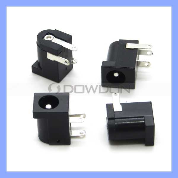 Electrical Mini Plug DC Power Jack 3 Pin Female Connector Plastic DC Power Jack for Tablet