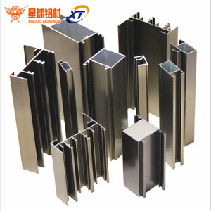 Hot Sell To Ethiopia Aluminium Anodized Bathroom Security Screen Casement Window & Door Hollow Accessories Profile