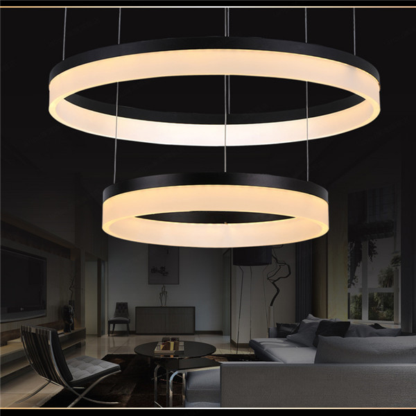 Modern Diy Led Pendant Light With 2700-6500k Remote Control For ...