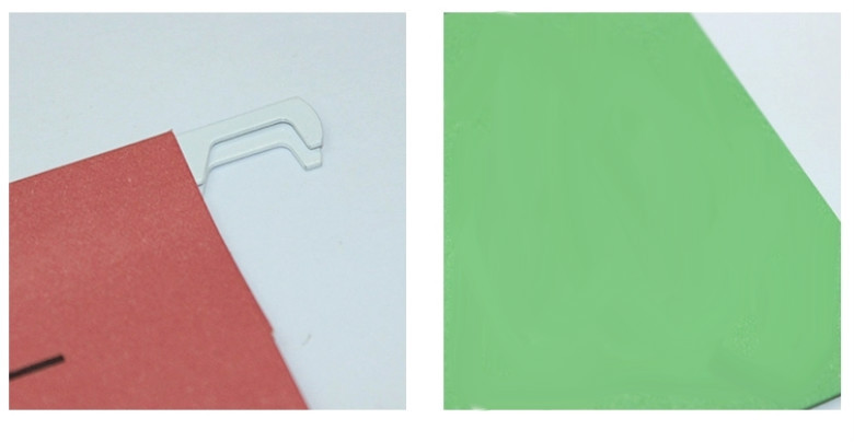 Custom Printed Tab Hanging File Folder Types Of Paper Folders ...