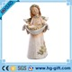 Creative angels wings figurine candle holder jars household resin craft valentine's day gifts birthday decoration