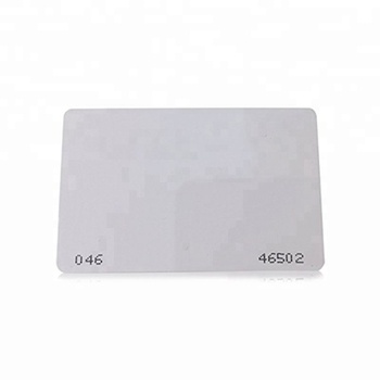White 125khz Rfid Card With 26 35 Bit Format Printable - Buy White 125khz  Rfid,26 35 Bit Format Card,26bit Card Product on Alibaba com