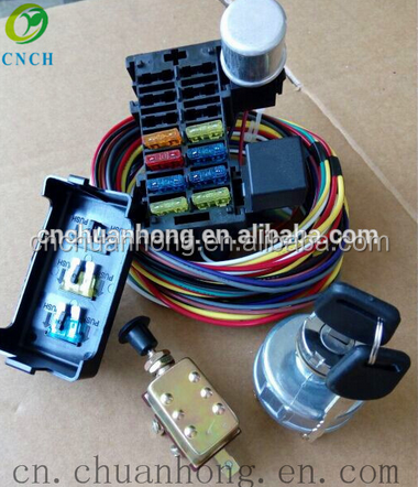 8 Circuit Fuse Box Beam Kit Group Relay Sensor Auto Data Control Wire on tachometer circuit, relay circuit, tube box circuit, horn circuit, battery circuit, speaker circuit, clock circuit, blower motor circuit, voltage regulator circuit, cooling fan circuit, starter circuit, alternator circuit, breaker box circuit, fuel pump circuit,