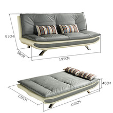 Sleeper Sofa Bed European, Black Leather Sofa Bed Folding