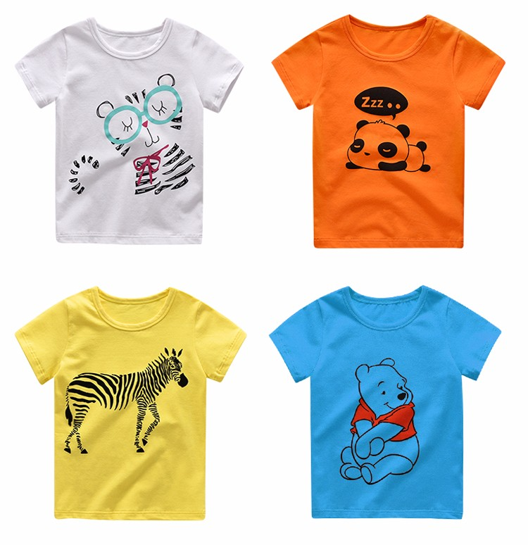 China wholesale a variety of color children t shirt for T shirt printing china