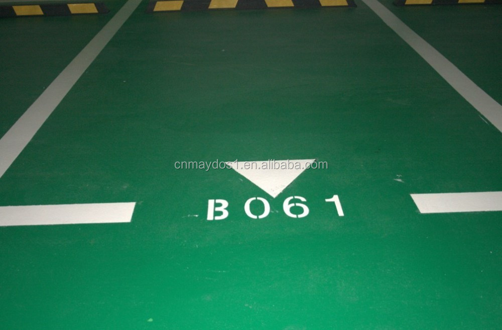 Anti Slip Epoxy Floor Paint for Warehouse Factory and hospital over Floor Tile