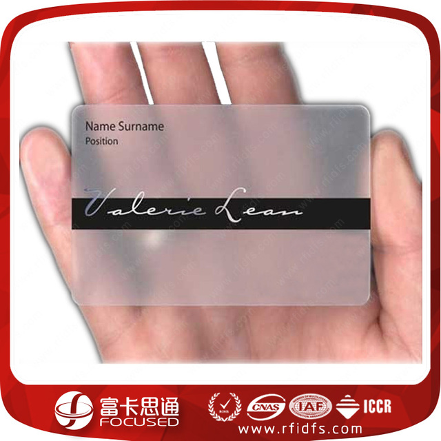 Buy cheap china pvc plastic business card products find china pvc wholesale low cost pvc nfc transparent plastic business cards reheart Gallery