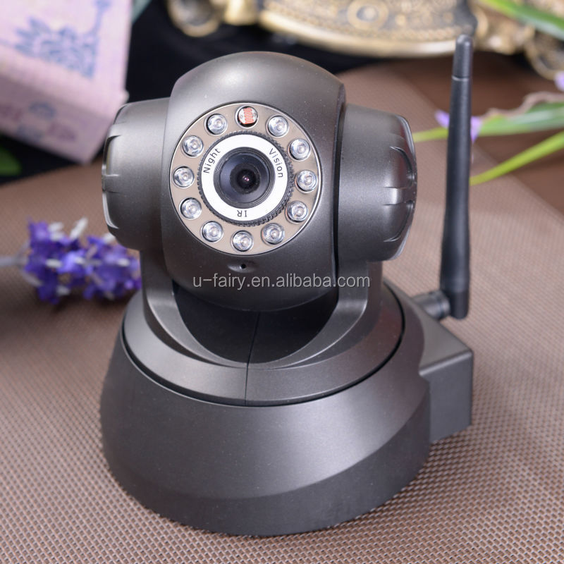 z-wave new technology of automatic wireless 360 degree IP camera with large storeage
