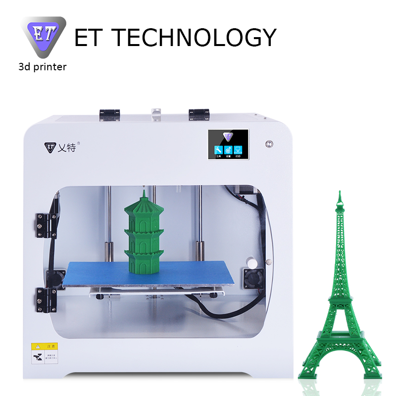 The Largest Size 3D Printer Big 3D Printer,300*200*200mm Original Manufacturer Shenzhen Yite ET-C1