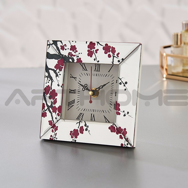 ARTHOME Mini Showy Exquisite Alibaba Supplier Mechanical Table Clock