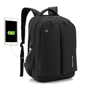 f720bb719333 Stylish Men college backpack school bag anti theft waterproof backpackn  travelling charging smart usb backpack