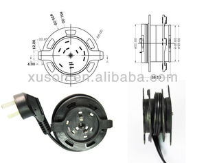 DIA80*40MM hot selling automatic retractable cable reel