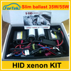 long warranty metal base high universal 35w/55w slim ballast hid xenon kit