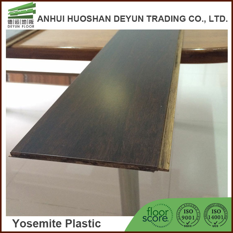 Horizontal carbonized online shopping solid bamboo flooring