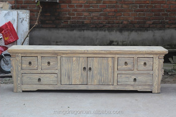 chinese antique reclaimed wood tv stand furniture