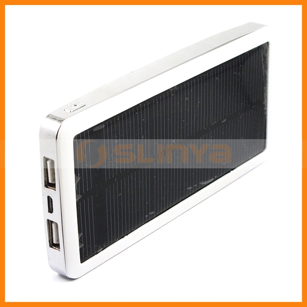1.5W Solar Power 12800mah multifunction Backup Battery for HTC One