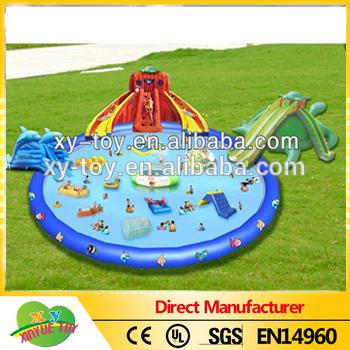 Nuovo design gonfiabili parchi acquatici, gonfiabile acqua parco giochi per adulti, gonfiabili ...