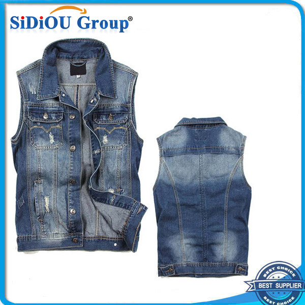 No Sleeve Denim Jacket No Sleeve Denim Jacket Suppliers and