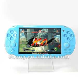 cool blue handheld video games pocket