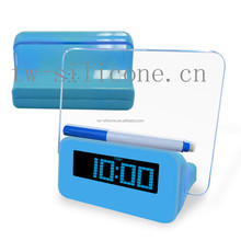 Fancy digital projcetor alarm clock led alarm clock with usb port