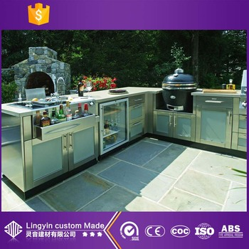 2017 made in china garden furniture aluminium door inset for China kitchen cabinets wholesale