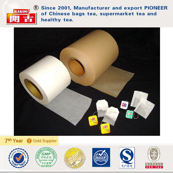 food grade heat seal water filter paper rolls for tea bags unbleached tea bag filter paper manufacturers