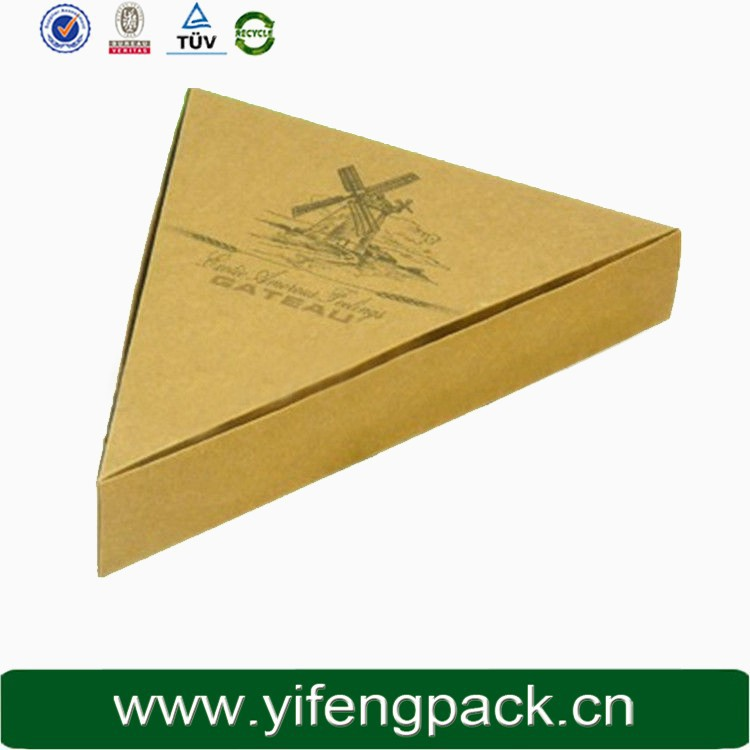 Guangzhou factory custom size corrugated paper pizza box wholesale