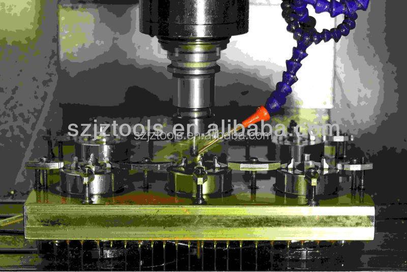 Mini metallo cnc fresatura di precisione della macchina for Mini tornio di precisione
