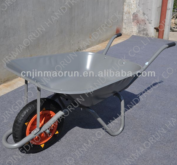 WB6202 Heavy Duty Commercial Metal Wheelbarrow