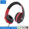 High quality and cheap creative colorful stereo comfortable Headphone neckband cute earphone for kid