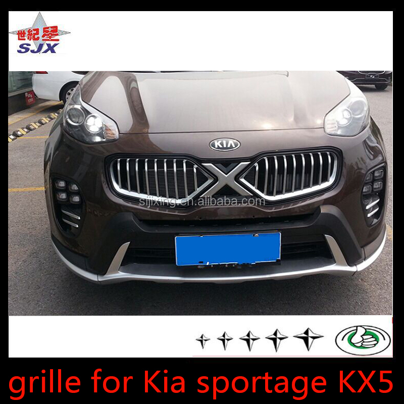 Grille for sportage hot Selling X Men Front Grills part for 2016 ki-a KX5