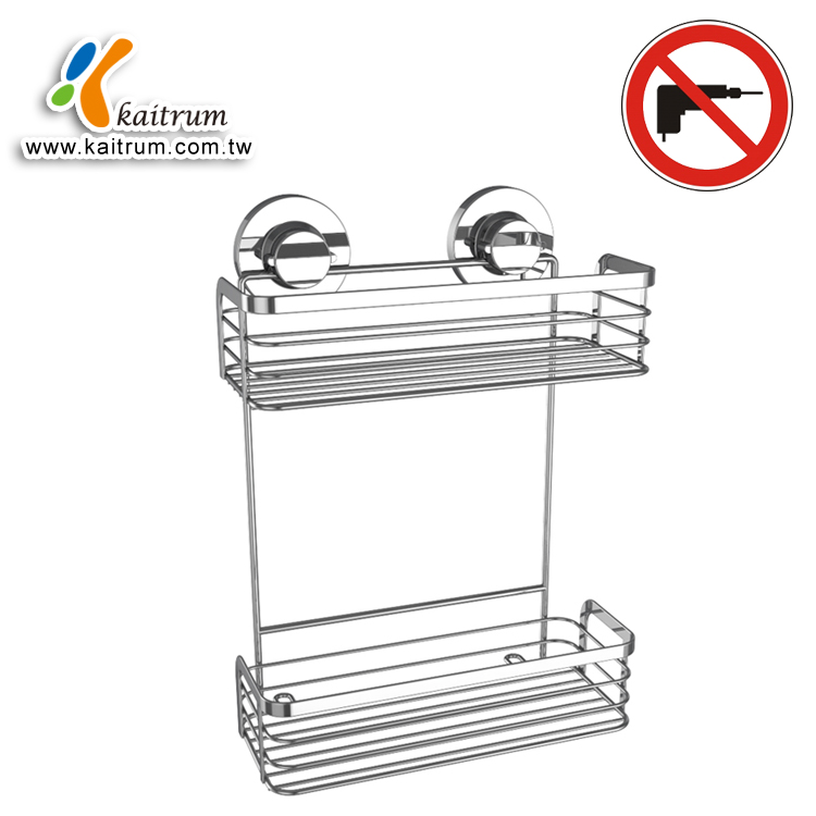 Wall Mount Caddy Suction Cup Shower