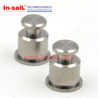 Stainless steel fastener for PC boards